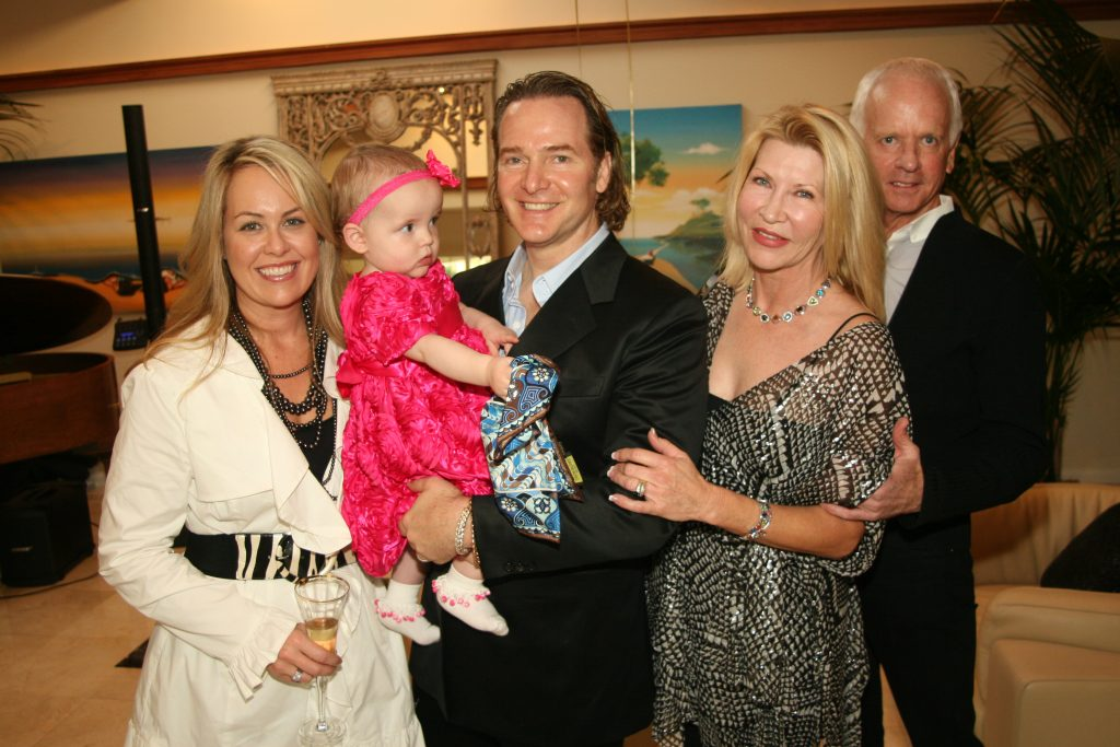 Heather Cruise, Kingsley and Steve Romande with Gail and Jeffrey Donahue.JPG