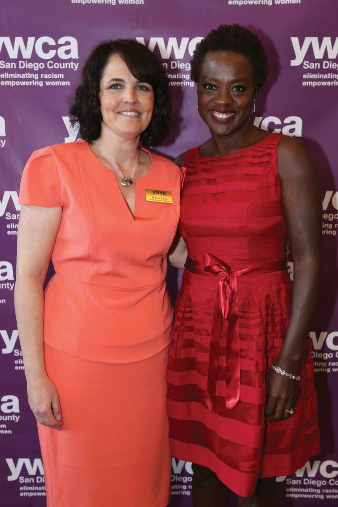Heather Finlay and Viola Davis.JPG