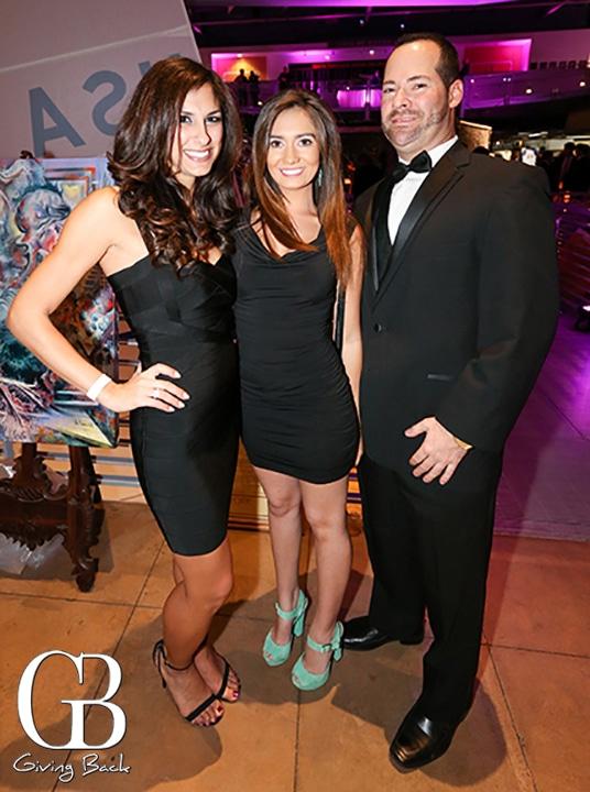 Heather Betros  Cubrina Courdin and Nicolas Friedman