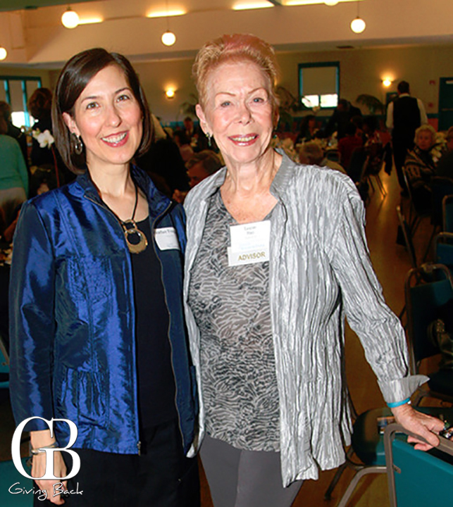 Heather Fougnier and Louise Hay