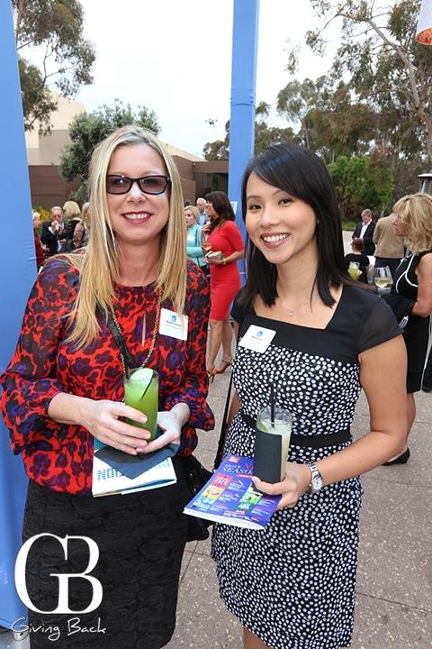 Heather Gouvis and Aimee Lim