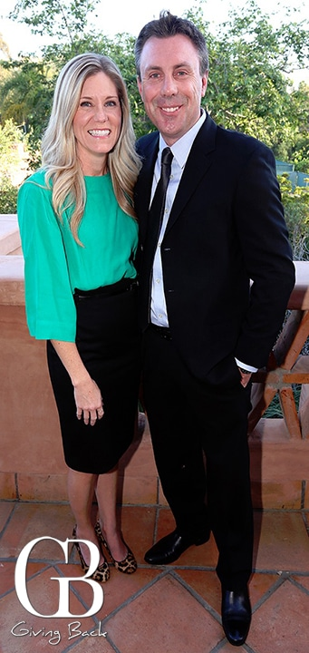 Heather and Stephen Moyer