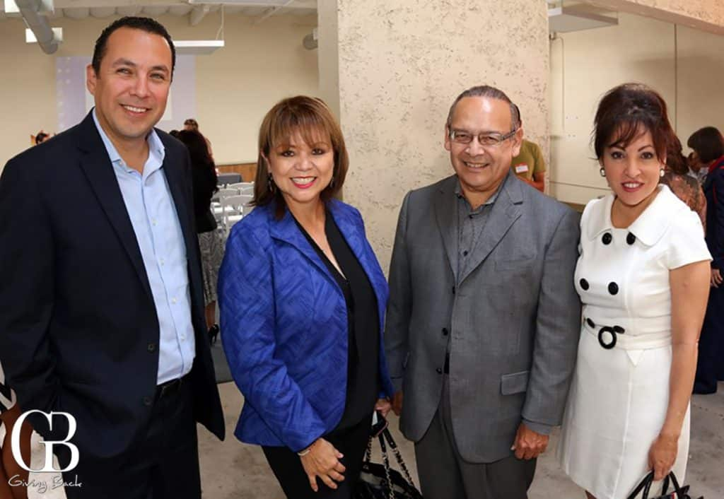 Hector Sanchez  Lidia and Ted Martinez with Carrie Lopez