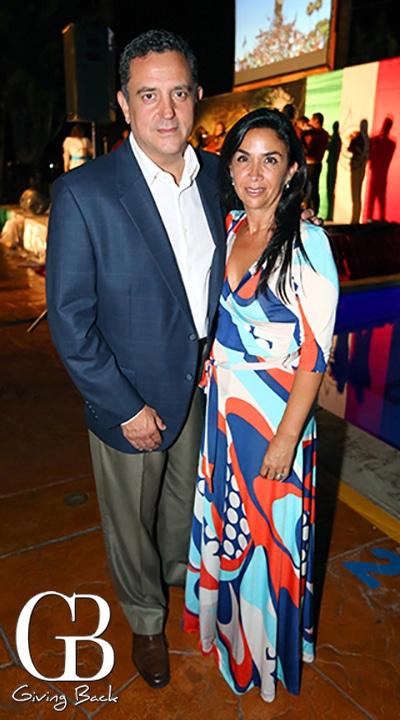 Hector y Claudia Banegas