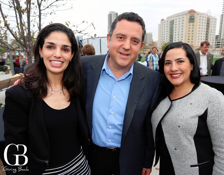 Heidi Salum  Hector Banegas y Denice Garcia