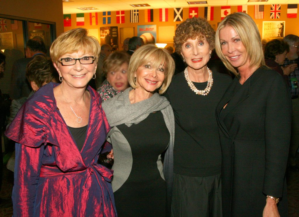 Helen Fleming, Irene Saperstein, Saundra Saperstein and Andrea Blom.JPG