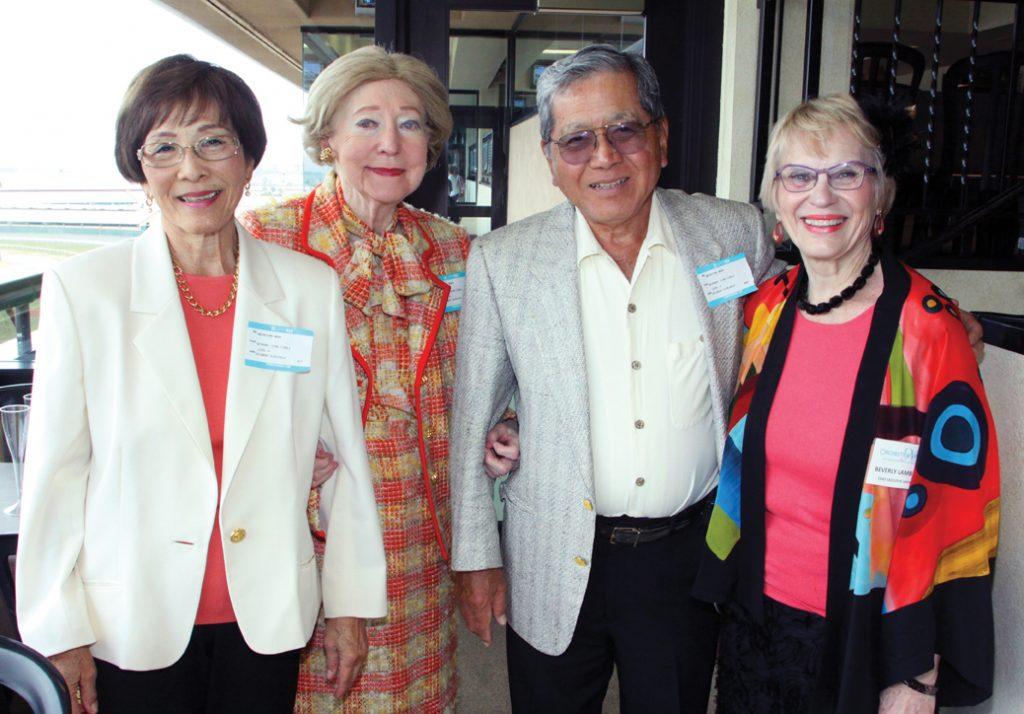 Helen Miyahira, Elsie Weston, Harry Miyahira and Beverly Lambert +.JPG