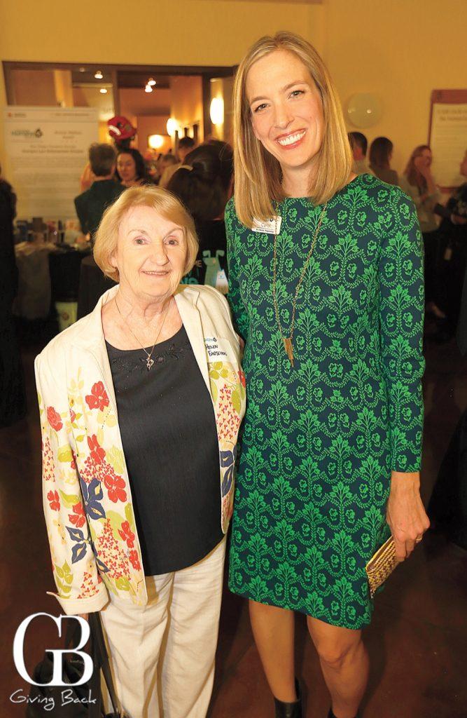 Helen Farschon and Carol Spychalski
