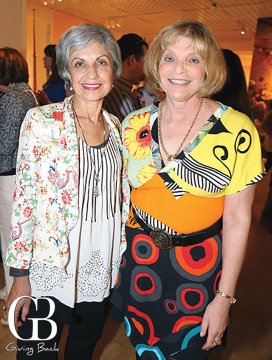 Helena Angelides and Margie Mopper