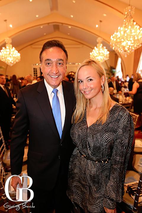 Henry Cisneros and Danitza Villanueva
