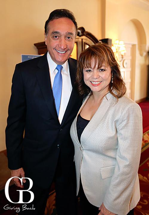 Henry Cisneros and Lidia S. Martinez