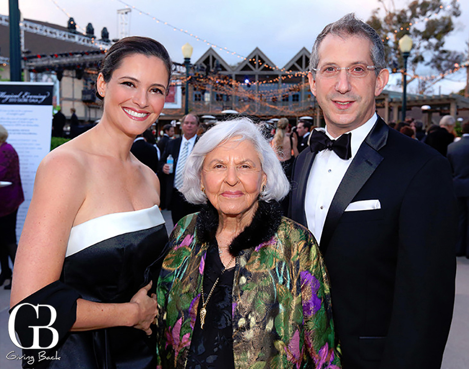 Hilit Edelstein  Deborah Szekely and Barry Edelstein