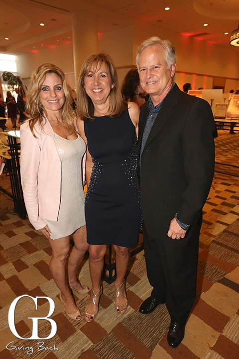 Holly Howard Wolf with Marilee and Steve  Needle