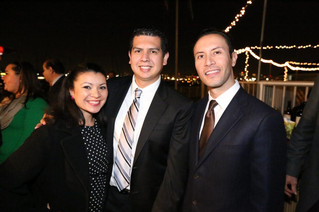 Honorable Alejandra Sotelo Solis, Councilmember David Alvarez and Rafael Castellanos.JPG