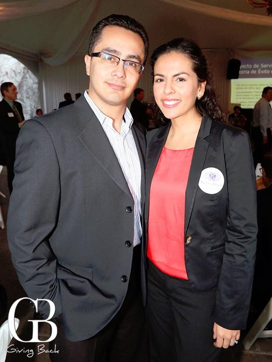 Horacio Almazar y Marta Alvarado