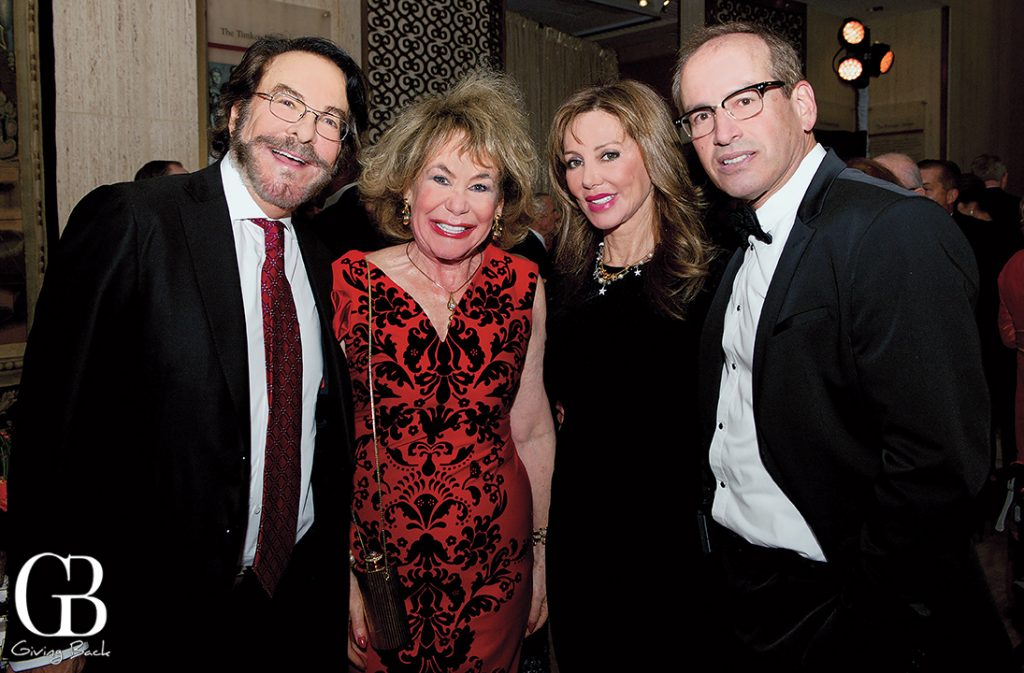 Howard and Barbara Milstein with Joanne and Steve Laverson