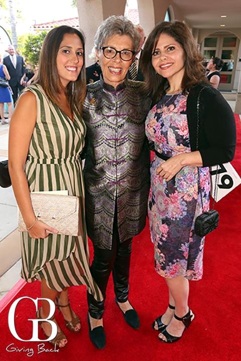 Huda Beal  Bette Hoffman and Lauren Fishman
