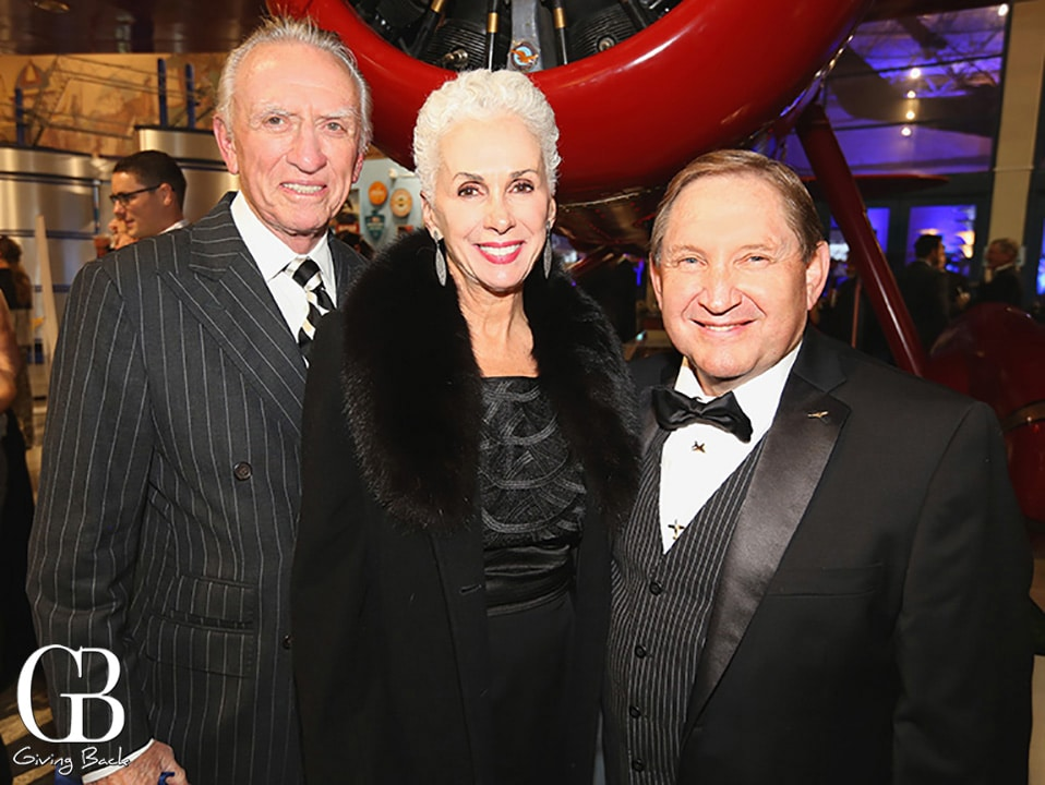 Hudson and Mary Drake with Jim Kidrick