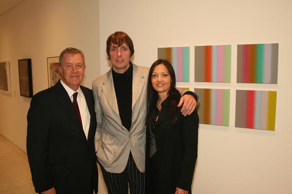Hugh Davies with Tim and Kim Bavington.JPG
