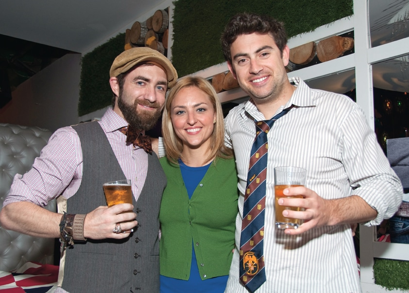 Hugh Simms, Krystal Powell and Ryan McCarthy