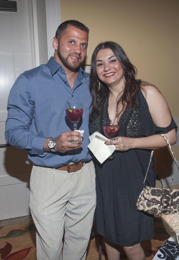 Humberto Pereira and Maura Reyes
