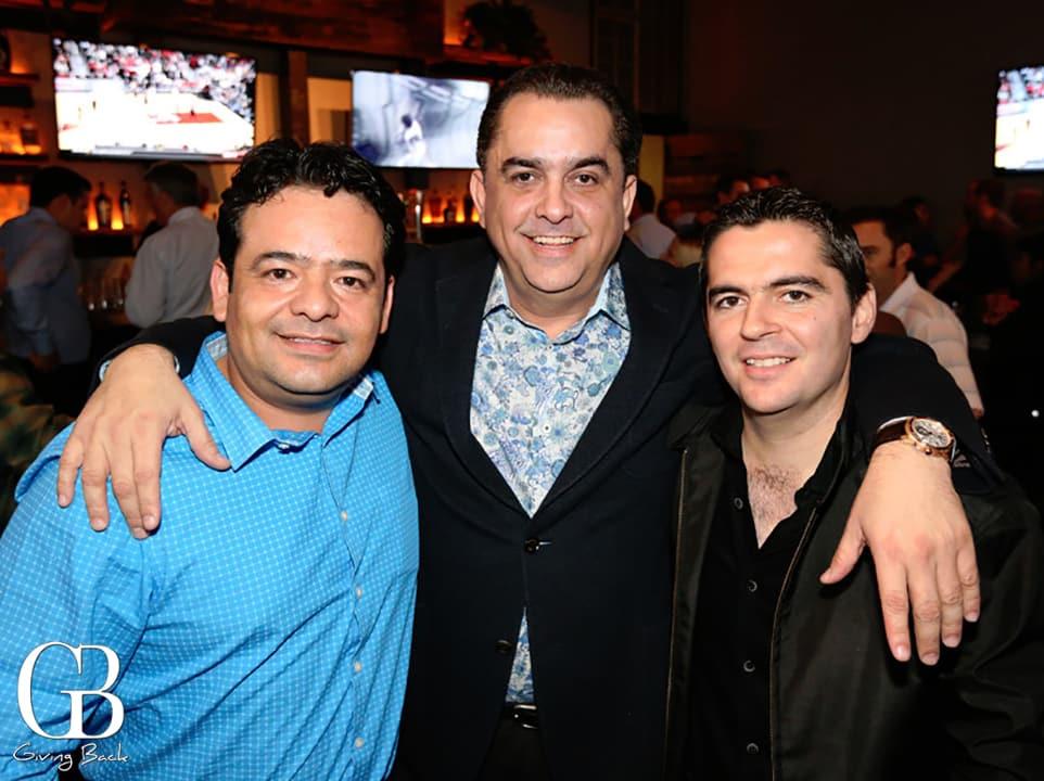 Humberto Huerta  David Garcia y Carlos Lizaraga
