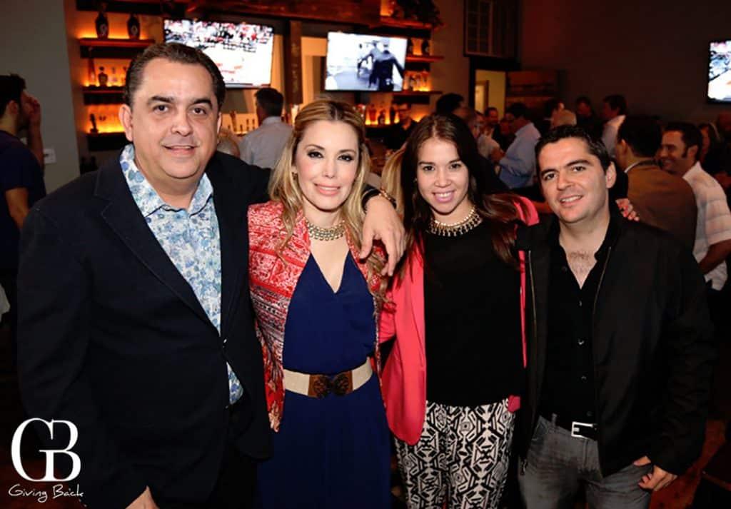 Humberto Huerta  Izayana Lizaraga  Melinda Pina y Carlos Lizaraga