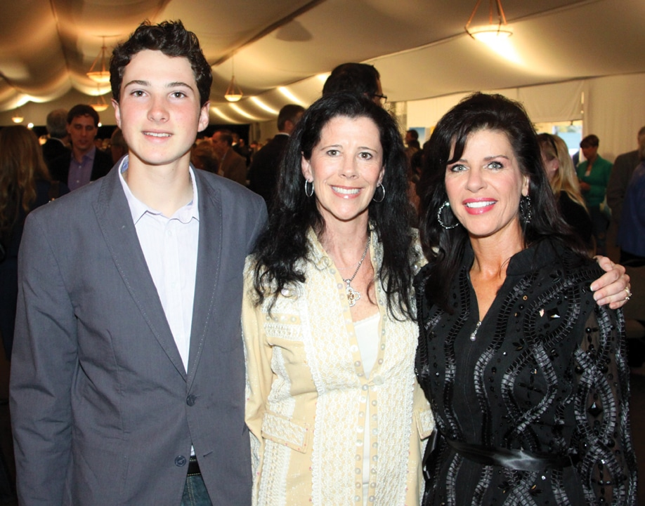 Hunter and Carlie Headapohl with Patty Elkus.JPG