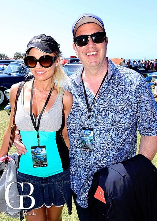 Ilona Moore and Mike Vizcuso