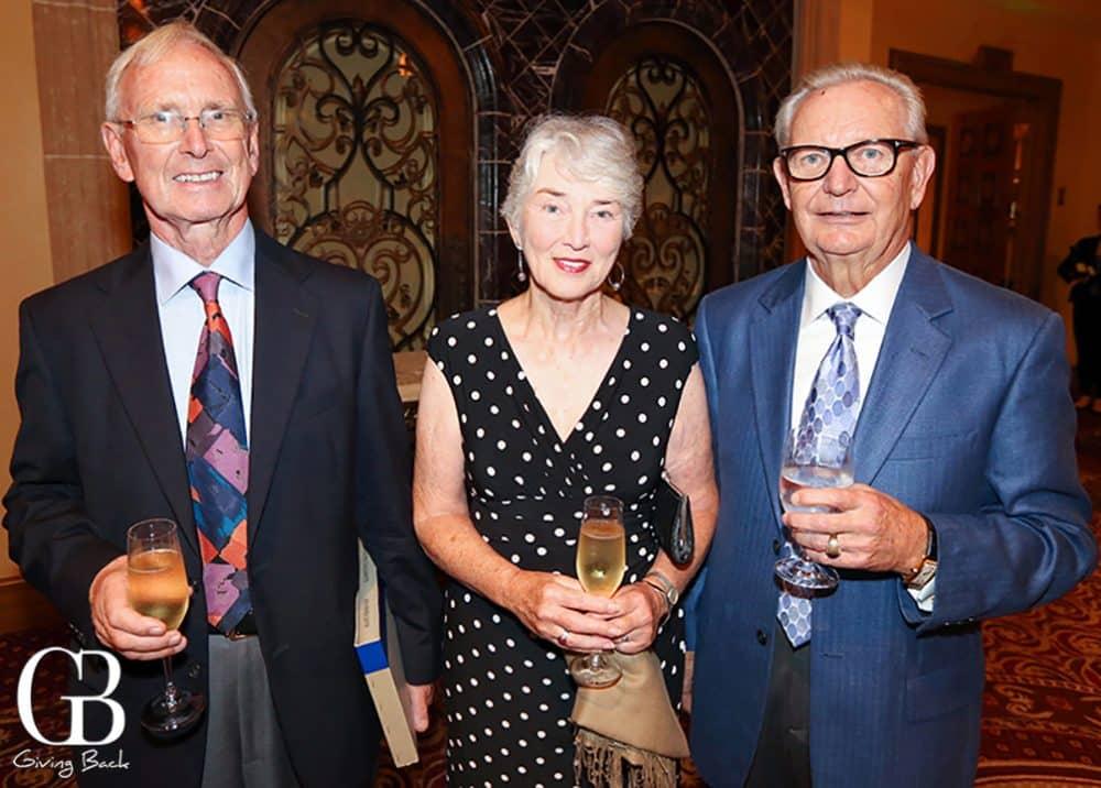 Immo and Diana Scheffler with Gerhard Klein