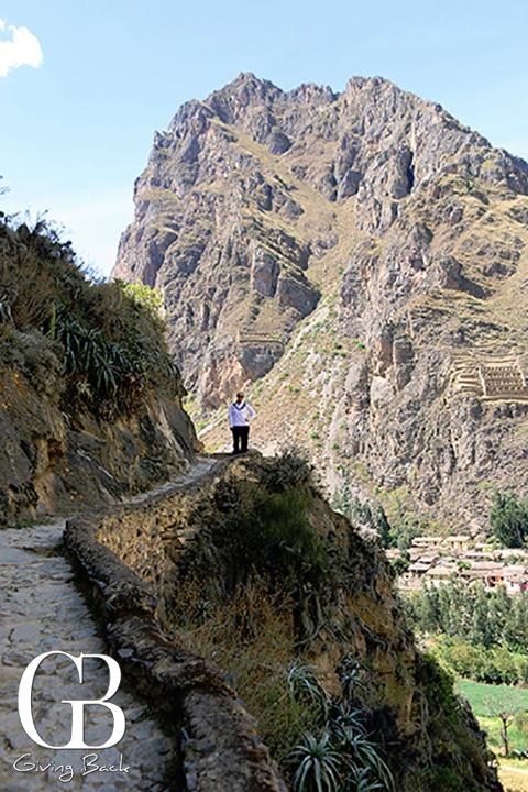 Inca Trail in the Valle Sagrado