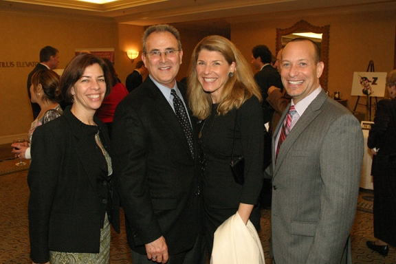 Indra Gardiner, Steve and Jacqueline Silverman and Jon Bailey.JPG