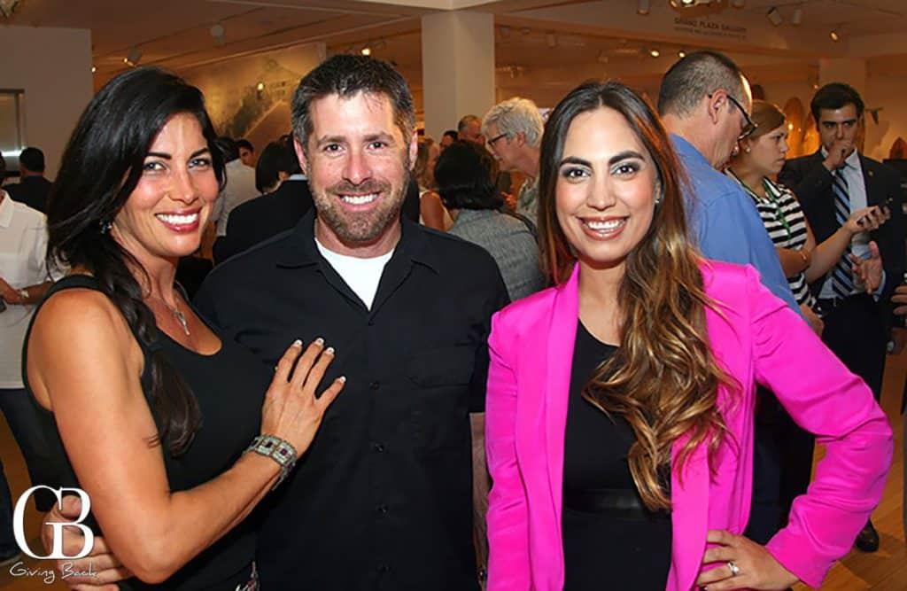 Ingrid and Yuseff Cherney with Yanula Ramirez