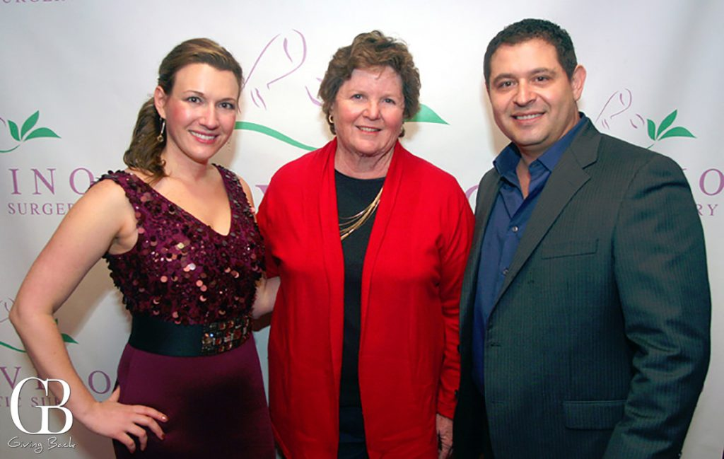 Irina Bilenkaya  Mayor Cheryl Cox and Carlos Chacon