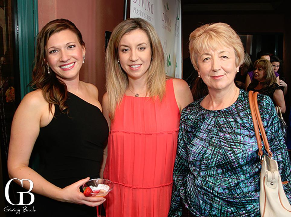 Irina Bilenkaya with Julia and Raisa Verezkina