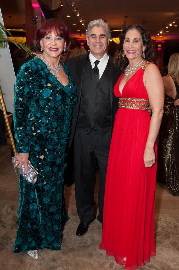 Iris Strauss, Todd Frank and Tamara Strauss
