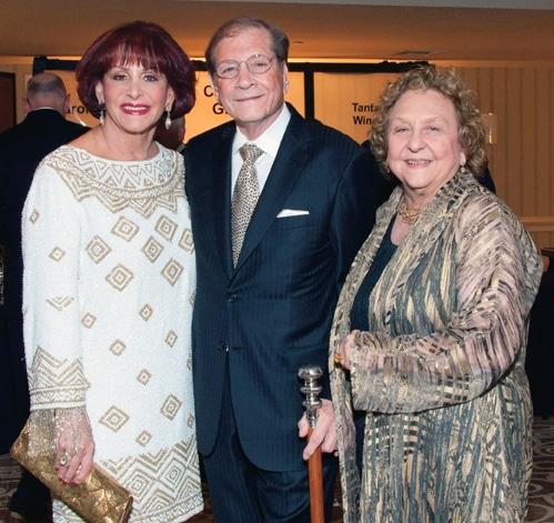 Iris and Matthew Strauss with Faye Wilson