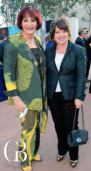 Iris Strauss and Marsha Chandler