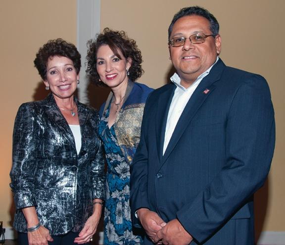 Irma Gonzalez with Luisa and Victor Torres
