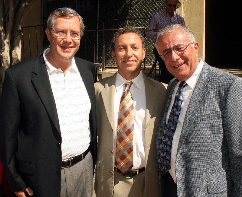 Isaac Szmuilowicz, Ilan Awerbuch and Raulf Polichar.JPG