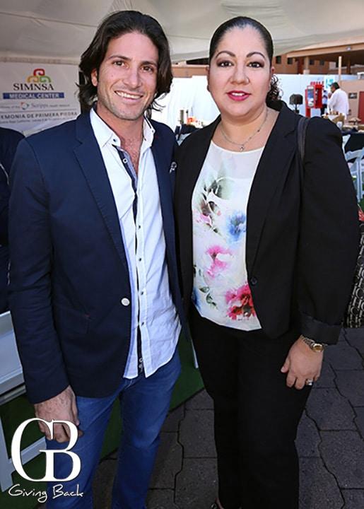 Isaac Abadi y Monica Montano