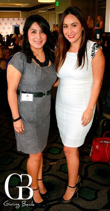 Isabel Berdeja and Adelia Carrillo