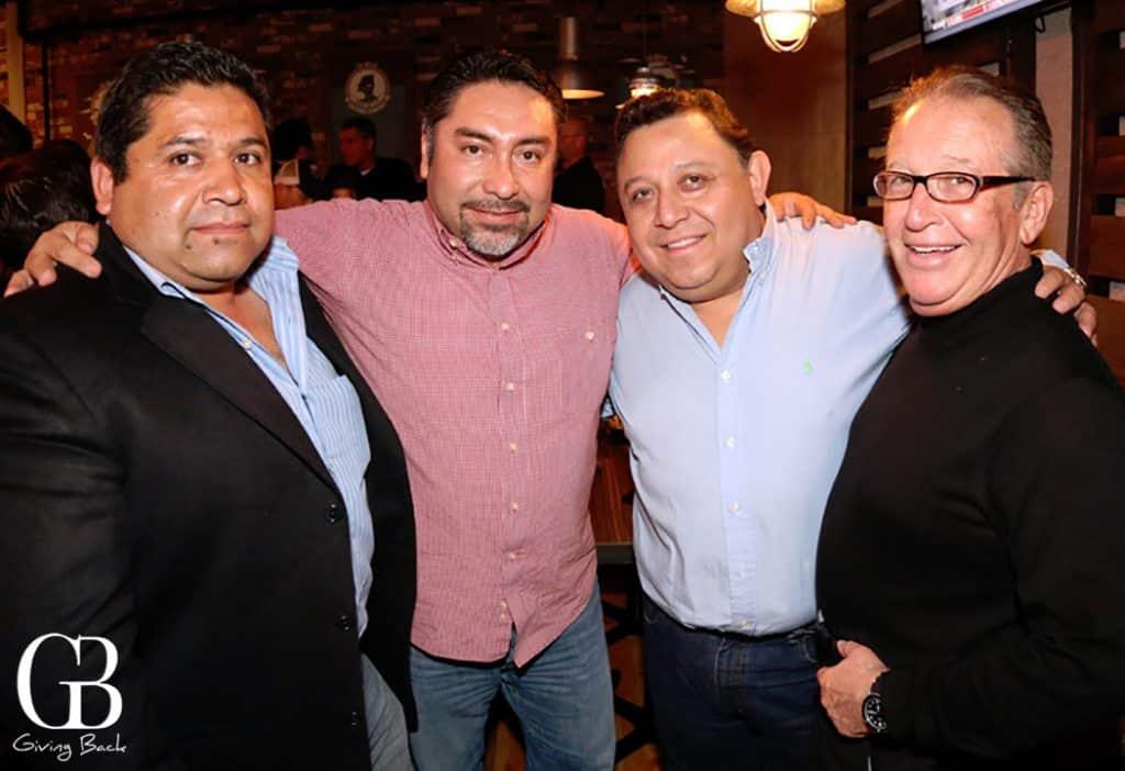 Ismael Burgos  Odilon Garcia  Douglas Greif y  Antonio Cueva