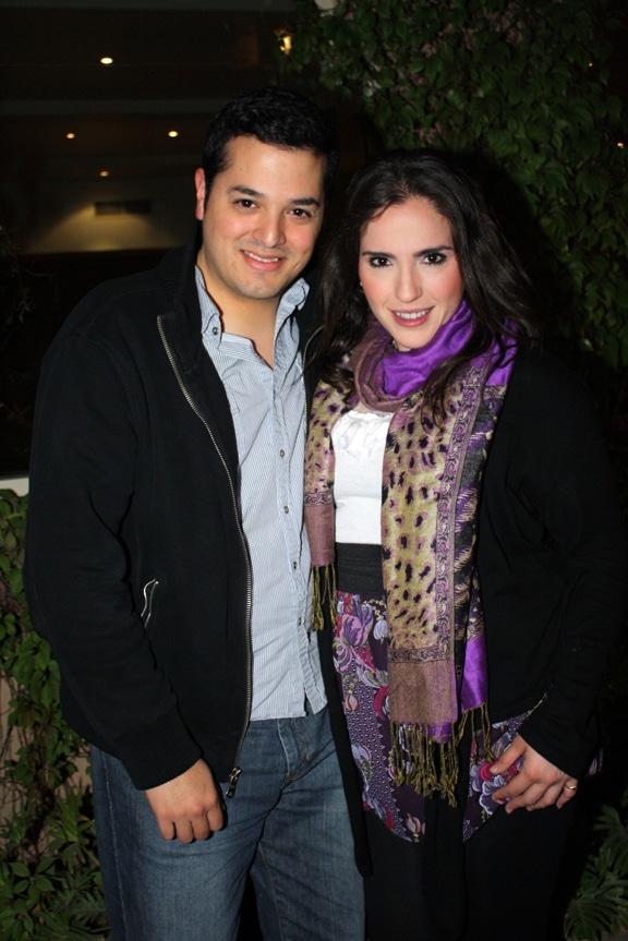 Ivan Pacheco y Bianca Bustamante