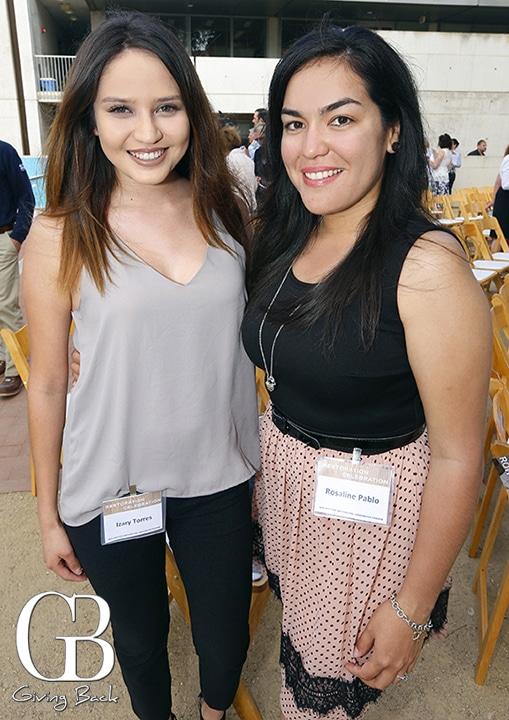 Izary Torres and Rosaline Pablo