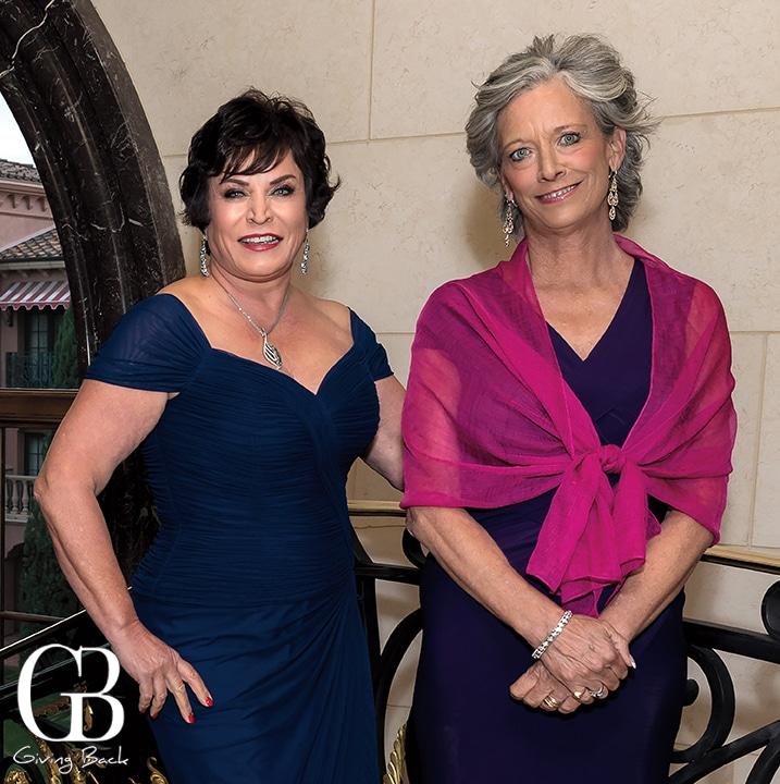 JA Lifetime Laureate  Wendy Gillespie with  Martha Phillips