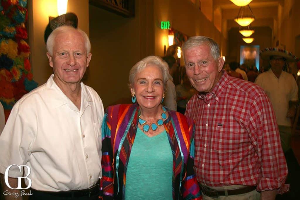 Jack Kuta with Carol and Ludlow Keeney