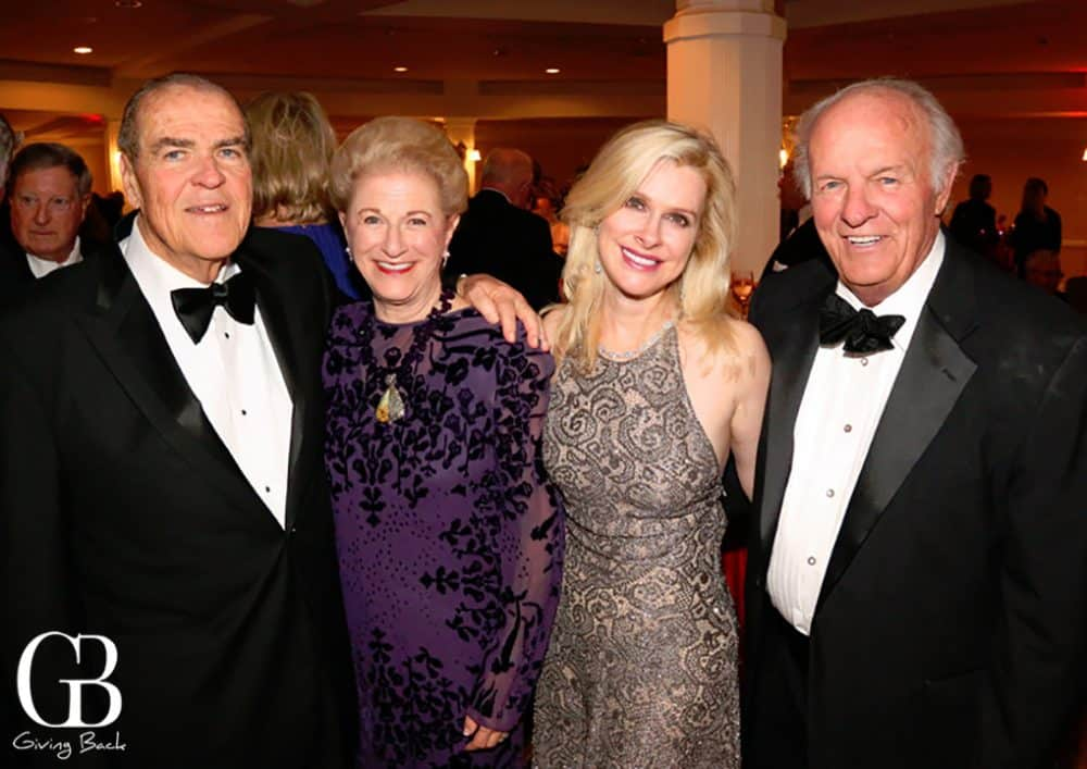Jack and Judy White with Elizabeth Dewberry and Denny Sanford