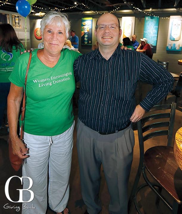 Jackie Ogdon and David Schwartz
