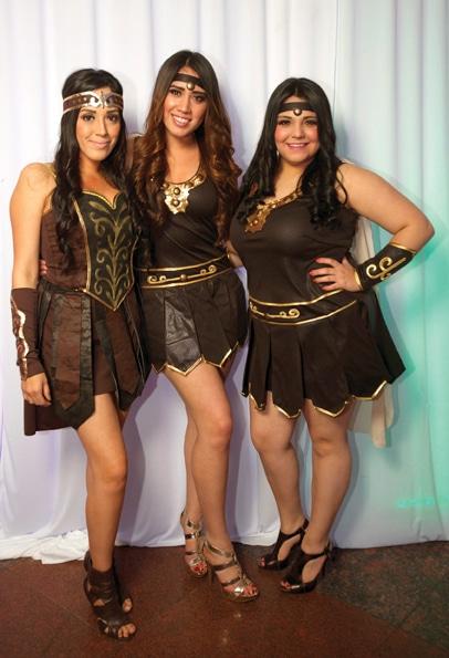 Jacqueline Pedrero, Stephanie Pedrero y Kissel Castellanos